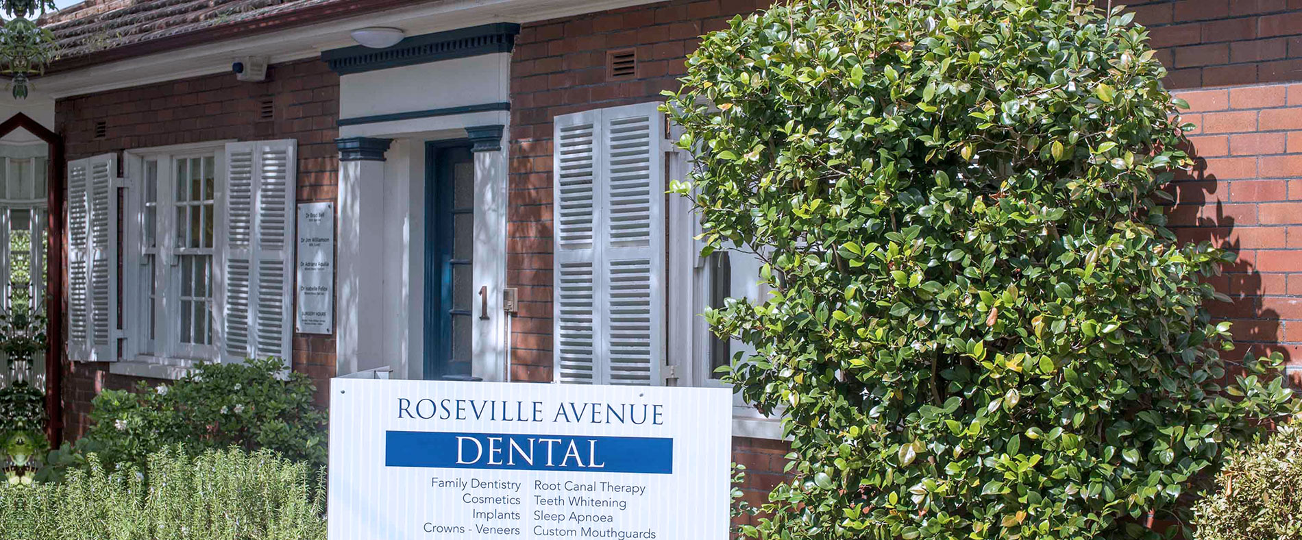Welcome to Roseville Avenue Dental